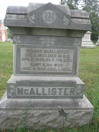 MCALLISTER, NELSON - Union County, Ohio | NELSON MCALLISTER - Ohio Gravestone Photos