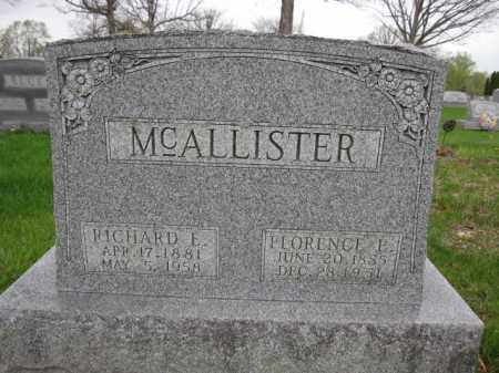 MCALLISTER, RICHARD E. - Union County, Ohio | RICHARD E. MCALLISTER - Ohio Gravestone Photos