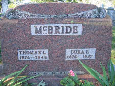 MCBRIDE, THOMAS L. - Union County, Ohio | THOMAS L. MCBRIDE - Ohio Gravestone Photos