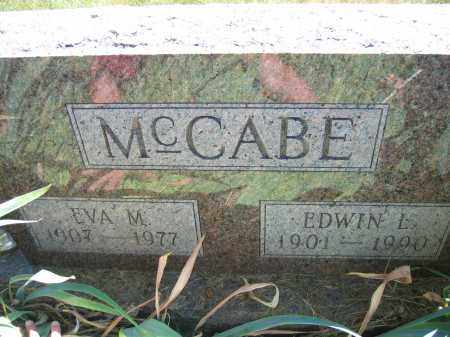 MCCABE, EVA M. - Union County, Ohio | EVA M. MCCABE - Ohio Gravestone Photos
