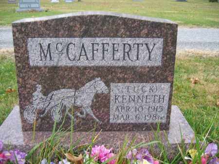 MCCAFFERTY, KENNETH - Union County, Ohio | KENNETH MCCAFFERTY - Ohio Gravestone Photos