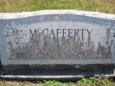 MCCAFFERTY, MARY R. - Union County, Ohio | MARY R. MCCAFFERTY - Ohio Gravestone Photos