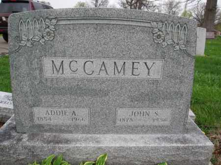 MCCAMEY, ADDIE A. - Union County, Ohio | ADDIE A. MCCAMEY - Ohio Gravestone Photos