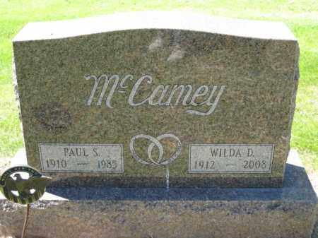 MCCAMEY, PAUL S. - Union County, Ohio | PAUL S. MCCAMEY - Ohio Gravestone Photos