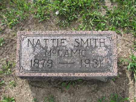 MCCAMIC, NATTIE SMITH - Union County, Ohio | NATTIE SMITH MCCAMIC - Ohio Gravestone Photos