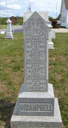 MCCAMPBELL, MARY E. - Union County, Ohio | MARY E. MCCAMPBELL - Ohio Gravestone Photos
