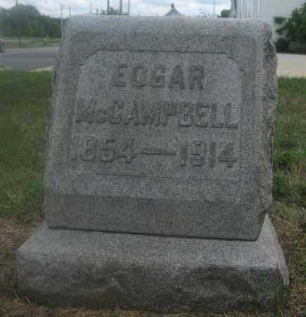 MCCAMPBELL, EDGAR - Union County, Ohio | EDGAR MCCAMPBELL - Ohio Gravestone Photos