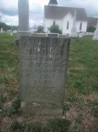 MCCAMPBELL, JOHN LEBEUS - Union County, Ohio | JOHN LEBEUS MCCAMPBELL - Ohio Gravestone Photos
