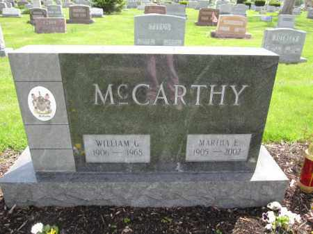 MCCARTHY, MARTHA E. - Union County, Ohio | MARTHA E. MCCARTHY - Ohio Gravestone Photos