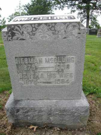 MCCLUNG, HERMAN - Union County, Ohio | HERMAN MCCLUNG - Ohio Gravestone Photos
