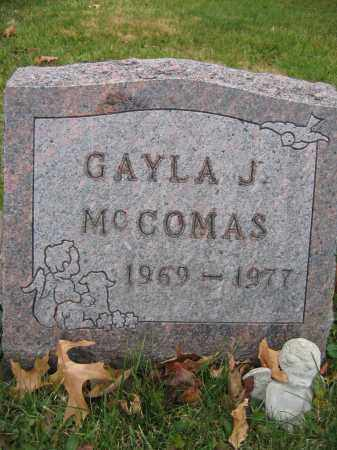 MCCOMAS, GAYLA J. - Union County, Ohio | GAYLA J. MCCOMAS - Ohio Gravestone Photos