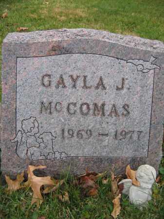 MCCOMAS, GAYLA J. - Union County, Ohio | GAYLA J. MCCOMAS - Ohio Gravestone Photos