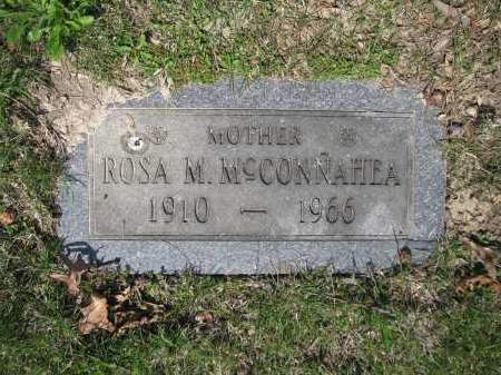 MCCONNAHEA, ROSA M. - Union County, Ohio | ROSA M. MCCONNAHEA - Ohio Gravestone Photos