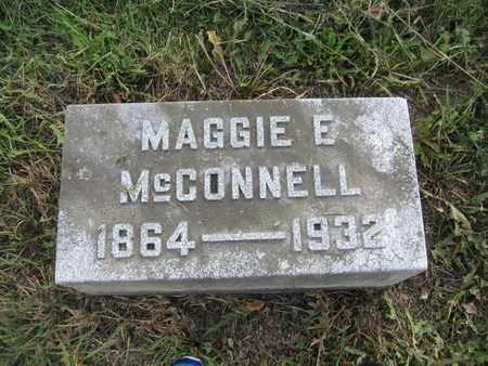 MCCONNELL, MAGGIE E. - Union County, Ohio | MAGGIE E. MCCONNELL - Ohio Gravestone Photos