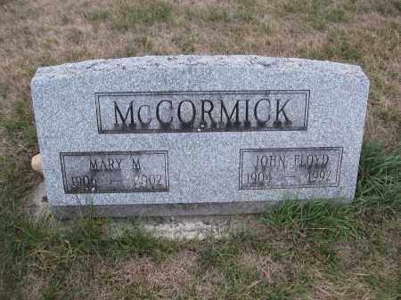 MCCORMICK, MARY M. - Union County, Ohio | MARY M. MCCORMICK - Ohio Gravestone Photos