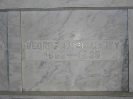 MCCOUBREY, GEORGE A. - Union County, Ohio | GEORGE A. MCCOUBREY - Ohio Gravestone Photos