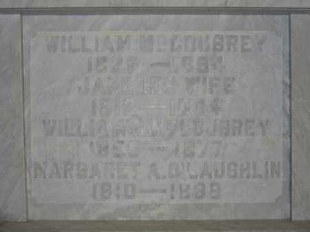MCCOUBREY, WILLIAM J. - Union County, Ohio | WILLIAM J. MCCOUBREY - Ohio Gravestone Photos