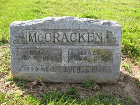 MCCRACKEN, ANN ELIZA ULLOM - Union County, Ohio | ANN ELIZA ULLOM MCCRACKEN - Ohio Gravestone Photos