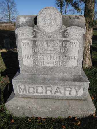 MCCRARY, WILLIAM T. - Union County, Ohio | WILLIAM T. MCCRARY - Ohio Gravestone Photos