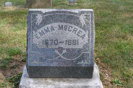 MCCREA, EMMA - Union County, Ohio | EMMA MCCREA - Ohio Gravestone Photos