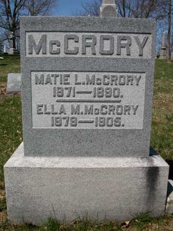MCCRORY, MATIE L. - Union County, Ohio | MATIE L. MCCRORY - Ohio Gravestone Photos