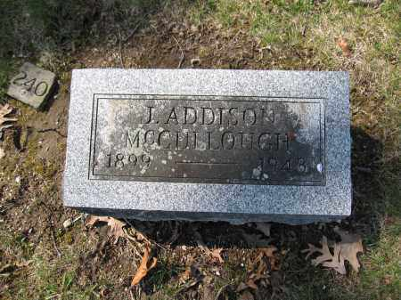 MCCULLOUGH, JOHN ADDISON - Union County, Ohio | JOHN ADDISON MCCULLOUGH - Ohio Gravestone Photos