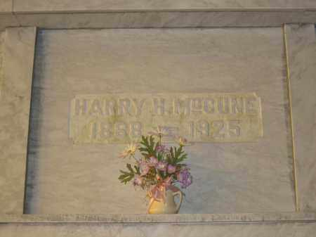 MCCUNE, HARRY H. - Union County, Ohio | HARRY H. MCCUNE - Ohio Gravestone Photos