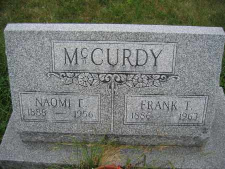 MCCURDY, FRANK T. - Union County, Ohio | FRANK T. MCCURDY - Ohio Gravestone Photos