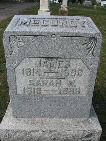 MCCUROY, SARAH W. - Union County, Ohio | SARAH W. MCCUROY - Ohio Gravestone Photos