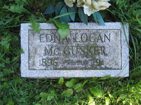 MCCUSKER, EDNA LOGAN - Union County, Ohio | EDNA LOGAN MCCUSKER - Ohio Gravestone Photos
