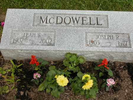 MCDOWELL, LEAH R. - Union County, Ohio | LEAH R. MCDOWELL - Ohio Gravestone Photos
