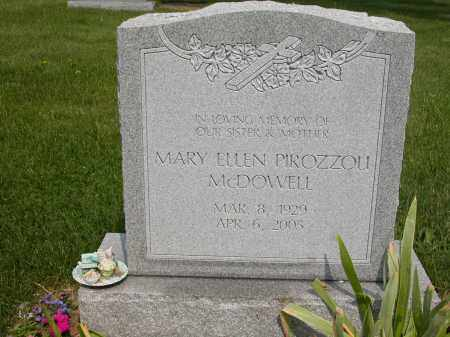 PIROZZOU MCDOWELL, MARY ELLEN - Union County, Ohio | MARY ELLEN PIROZZOU MCDOWELL - Ohio Gravestone Photos