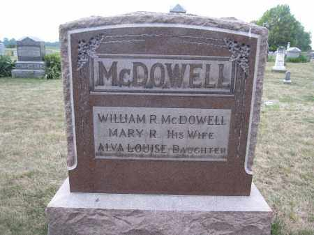 MCDOWELL, WILLIAM R. - Union County, Ohio | WILLIAM R. MCDOWELL - Ohio Gravestone Photos