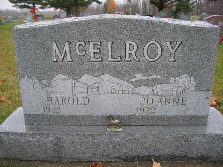 MCELROY, JOANNE - Union County, Ohio | JOANNE MCELROY - Ohio Gravestone Photos