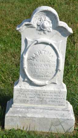 MCENTIRE, MARTHA - Union County, Ohio   MARTHA MCENTIRE - Ohio Gravestone Photos