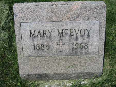MCEVOY, MARY - Union County, Ohio | MARY MCEVOY - Ohio Gravestone Photos