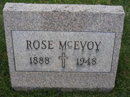 MCEVOY, ROSE - Union County, Ohio | ROSE MCEVOY - Ohio Gravestone Photos