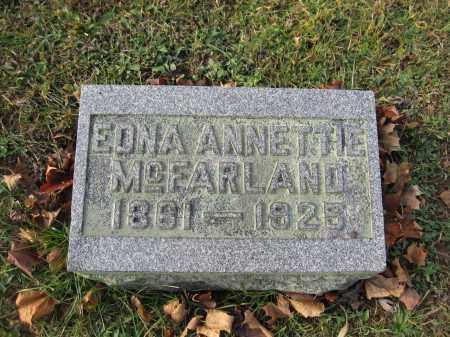 MCFARLAND, EDNA ANNETTE - Union County, Ohio | EDNA ANNETTE MCFARLAND - Ohio Gravestone Photos