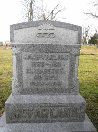 MCFARLAND, ELIZABETH ELLEN LOWE - Union County, Ohio | ELIZABETH ELLEN LOWE MCFARLAND - Ohio Gravestone Photos