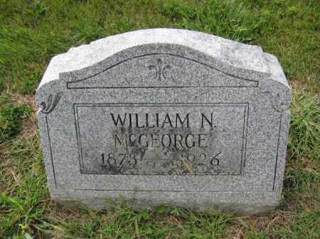 MCGEORGE, WILLIAM N. - Union County, Ohio | WILLIAM N. MCGEORGE - Ohio Gravestone Photos