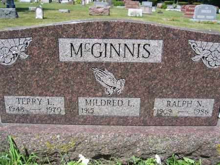MCGINNIS, TERRY LEE - Union County, Ohio | TERRY LEE MCGINNIS - Ohio Gravestone Photos