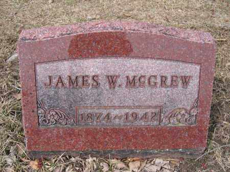 MCGREW, JAMES W. - Union County, Ohio | JAMES W. MCGREW - Ohio Gravestone Photos