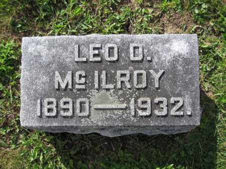 MCILROY, LEO D. - Union County, Ohio | LEO D. MCILROY - Ohio Gravestone Photos