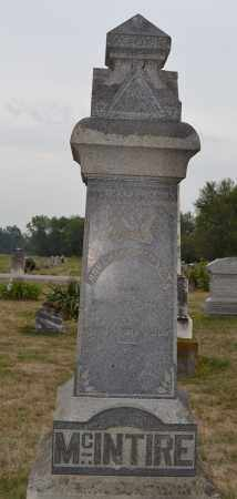 MCINTIRE, ROBERT A. - Union County, Ohio | ROBERT A. MCINTIRE - Ohio Gravestone Photos