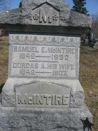 MCINTIRE, SAMUEL E. - Union County, Ohio | SAMUEL E. MCINTIRE - Ohio Gravestone Photos