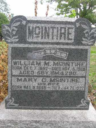MCINTIRE, MARY C. - Union County, Ohio | MARY C. MCINTIRE - Ohio Gravestone Photos