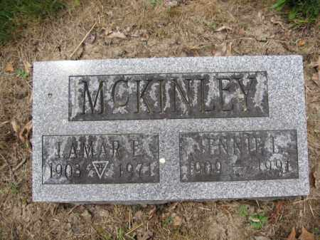 MCKINLEY, JENNIE L. - Union County, Ohio | JENNIE L. MCKINLEY - Ohio Gravestone Photos