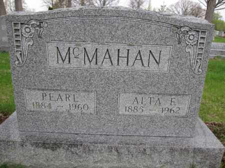 MCMAHAN, PEARL - Union County, Ohio | PEARL MCMAHAN - Ohio Gravestone Photos