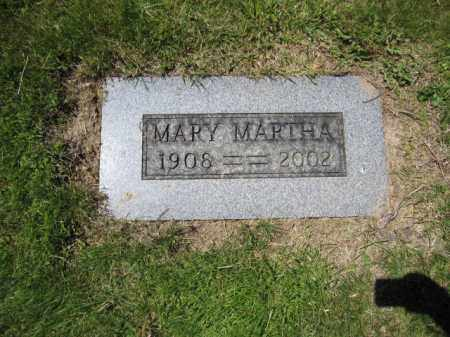 MCMAHON, MARY MARTHA - Union County, Ohio | MARY MARTHA MCMAHON - Ohio Gravestone Photos