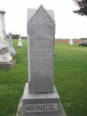 MCNEIL, CATHARINE MCCREA - Union County, Ohio | CATHARINE MCCREA MCNEIL - Ohio Gravestone Photos